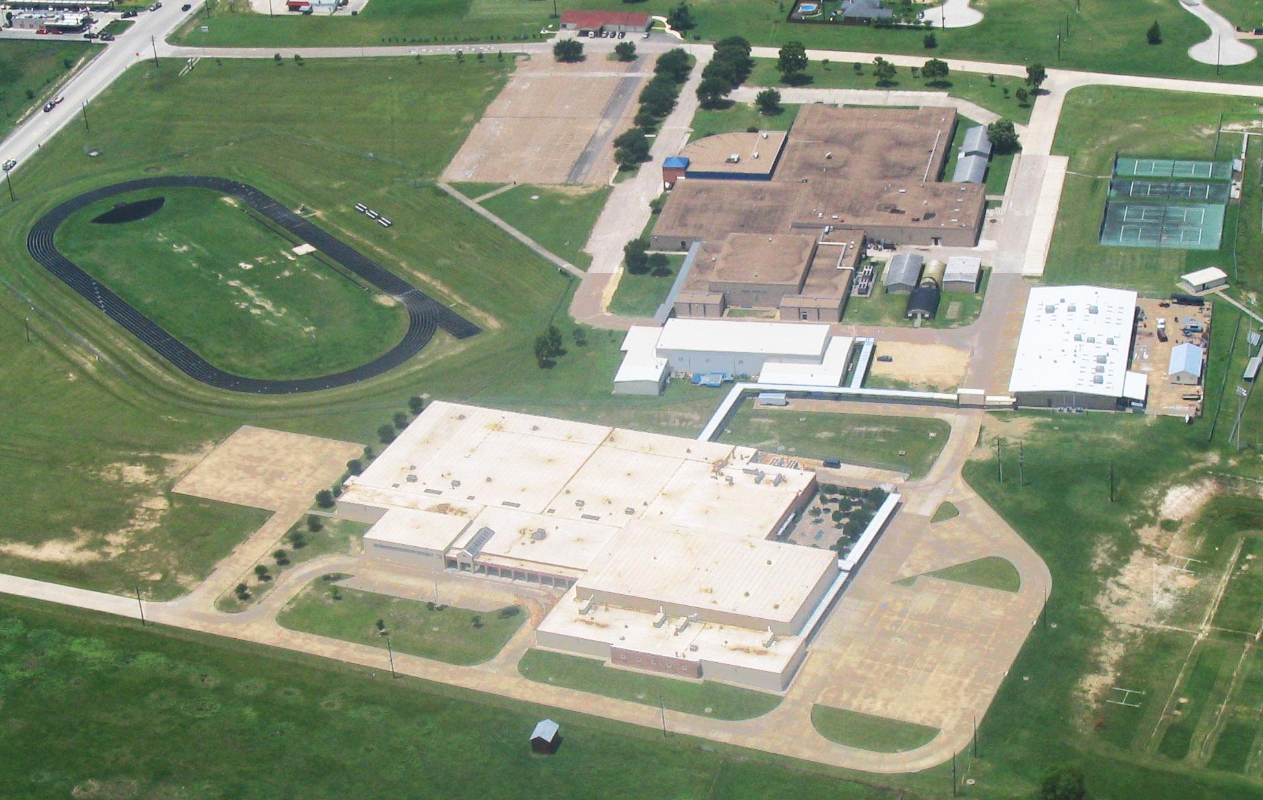 Texas High School Arial Shot
