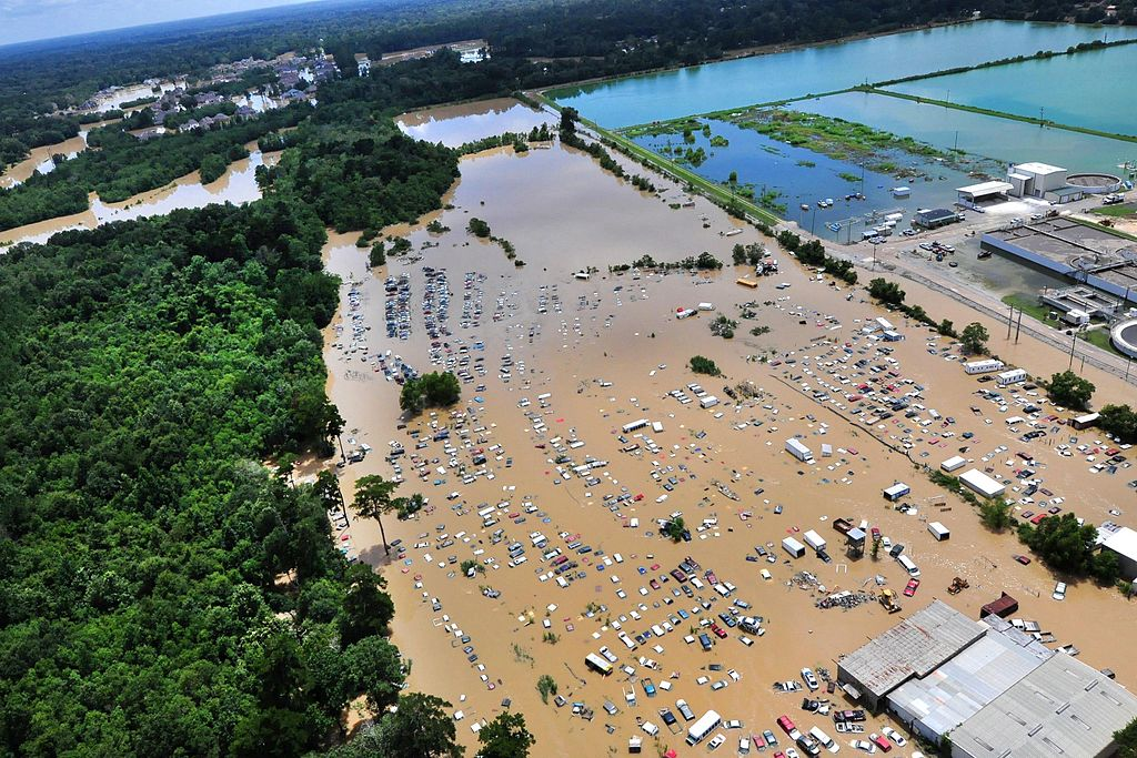 Flooding in Baton Rouge 2016